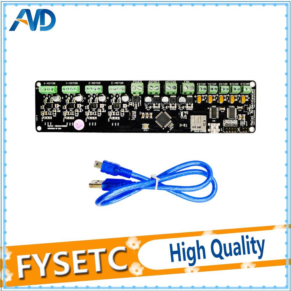 12864LCD + 3D panneau de commande de l'imprimante DIY kit partie tronxy Melzi 2.0 1284 p 3D IMPRIMANTE PCB CONSEIL IC ATMEGA1284P accessoires - 2