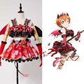 Love Live! New SR Rin Hoshizora Little Devil Transformed Uniform Halloween Cosplay Costume Women Girls