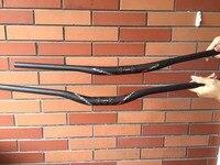 ec90 Cycling Carbon DH Handlebar MTB Straight Flat / Riser Handle Bars Mountain Bike 31.8 *760/780/800/820 Matte Bicycle Hand