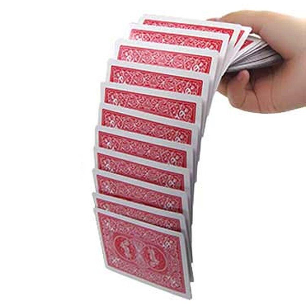 Magic Electric Deck Cards Prank Trick Prop Gag Poker Acrobatics Waterfall Card Props