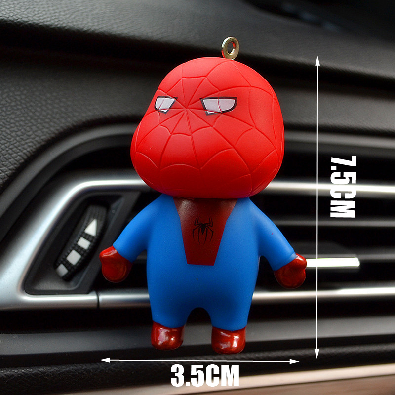 Image 3 - Car Air Freshener Automobiles Perfume Avengers Superhero Aromatherapy Clip Scent Diffuser Air Freshener In The Car Accessories-in Air Freshener from Automobiles & Motorcycles