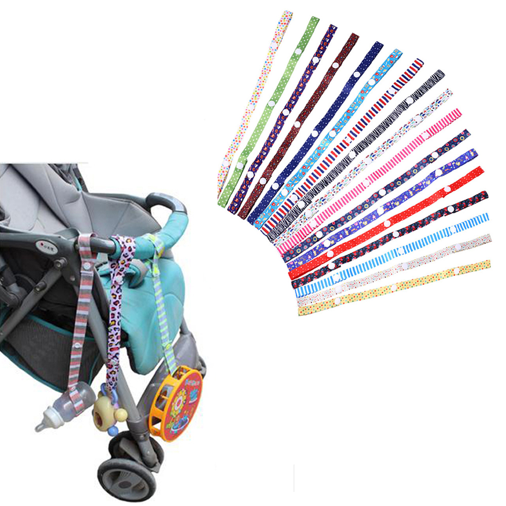 1pc Baby Toy Anti-lost Fixed Tape Stroller Accessory Strap Holder Bind Belt Colorful  Baby Kids Children Toy Safety Leash