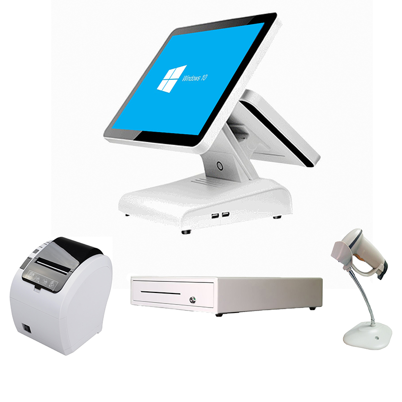 ComPOSxb Dual Screen Pos System Cash Register Point Of Sales Pos Machine
