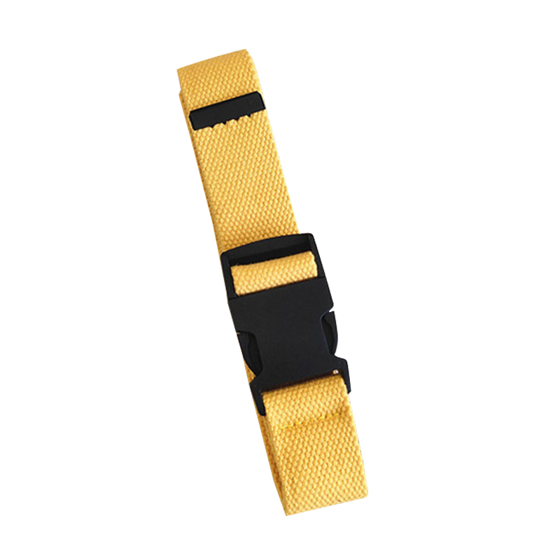 HTB1KPI2T3HqK1RjSZFEq6AGMXXay - Adults Adjustable All-Match Belt Unisex Korean Style Canvas Belts Vintage Plastic Buckle Elastic Solid Color Long Waistband