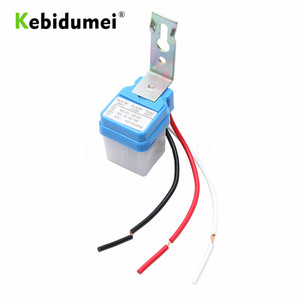 Image 4 - KEBIDU Sensor Schalter Fotozelle Straße Licht Switch Control Photo Automatische Auto On Off 110 v 220 v DC AC 12 v 50 60 hz 10A