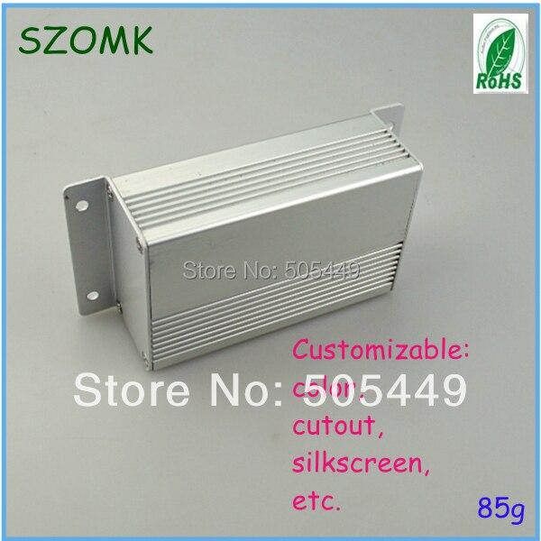 1piece Aluminum extusion enclosure  35x64x100mm  aluminum enclosure for PCB