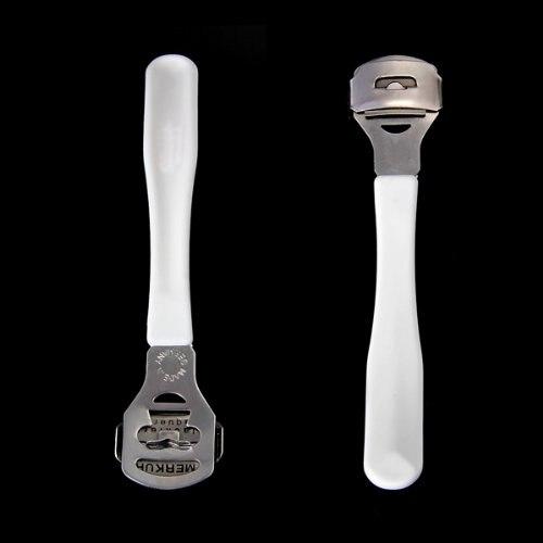YOST-Hard Court Callus Cutter Pedicure Feet Care White Silver