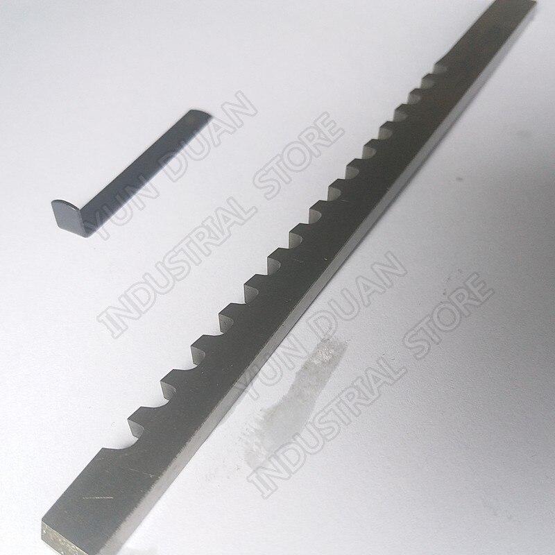 Push tipo Hss Ferramenta de Corte para Cnc Aço de Alta Keyway Broach Polegadas c Velocidade Broaching Máquina Metalurgia 1 – 4