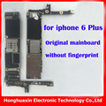 Para iphone 6 plus 128 gb original mainboard motherboard sin touch id desbloqueo de fábrica sin huella digital placa del sistema ios