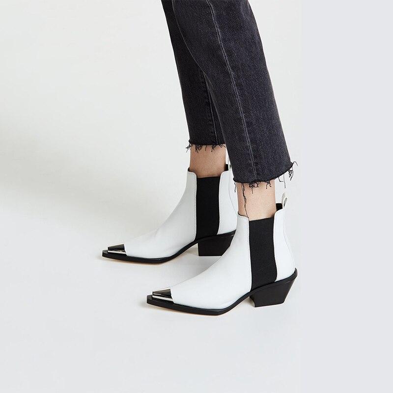 Ayakk.'ten Ayak Bileği Çizmeler'de XiuNingYan 2019 Çizmeler Kadın Çizmeler Med Topuklu Bayan Ayakkabı Kadın moda rahat ayakkabılar Sonbahar Rahat Botas Mujer Botas Mujer'da  Grup 1