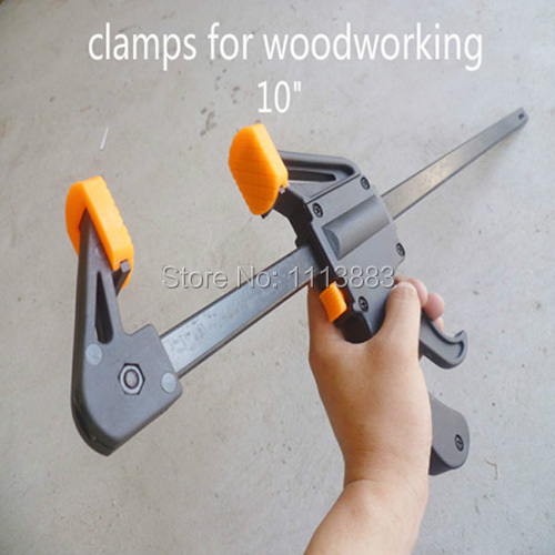 F Type Clips Clamps For Woodworking 10 Inch Frame Mould Fixed Tight