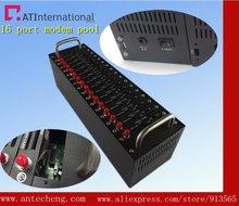 16 порт модемный пул Q24plus TCP/IP массовая отправка sms устройство