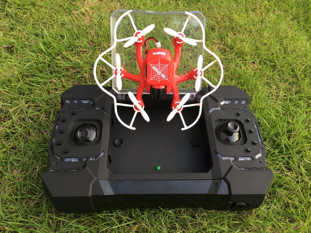 SBEGO 126C Spider Drone with Web logo 2.4G 3D 6 Axis Gyro RC Helicopter Roll One Key Return Dual Mode 4CH with HD Camera q929 mini drone headless mode ddrones 6 axis gyro quadrocopter 2 4ghz 4ch dron one key return rc helicopter aircraft toys