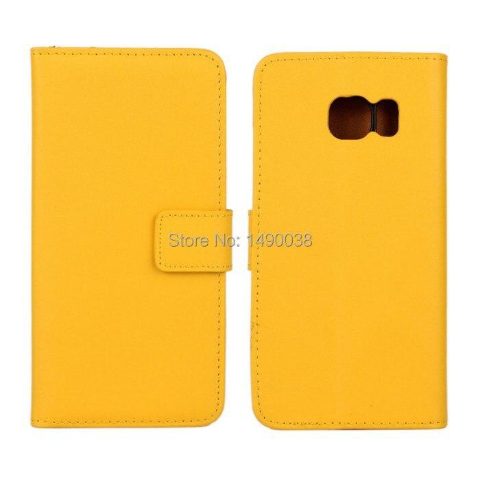 Högkvalitativt äkta läder-flipfodral för Samsung Galaxy S6 Edge - Reservdelar och tillbehör för mobiltelefoner - Foto 4