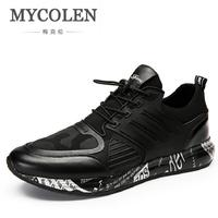 MYCOLEN New Autumn Fashion Casual Shoes Men Fashion Sneakers Winter Shoes Men's Male Brand Shoes Footwear zapato hombre piel
