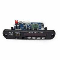 5 В/12 В приложение Управление Bluetooth 4.0 MP3 декодирования доска модуль TF карты usb fm ape flac декодер доска цифровой красный светодиод