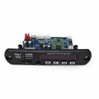 5 V/12 V APP Controle Bluetooth 4.0 MP3 Decodering Board Module Tf-kaart USB FM APE FLAC Decoder Board Digitale Rode LED
