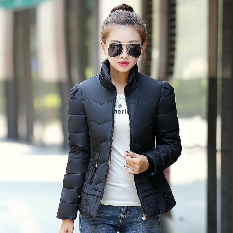 Aliexpress.com : Buy New Short Slim Winter Jacket Women Down Coat ...
