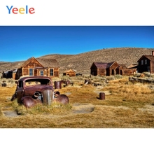 Yeele Wilderness Vintage Car Log Cabin Hey Photography Backgrounds Customized Photographic Backdrops For Photo Studio