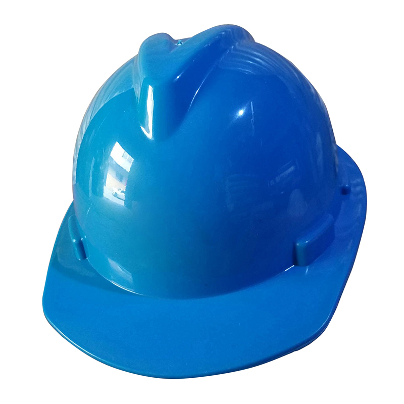 Safety Helmet Work Cap Plastic Material V-shaped PE Helmets Hard Hat Construction Site Worker Working Protective Hard Hat classic solar energy safety helmet hard ventilate hat cap cooling cool fan delightful cheap and new hot selling