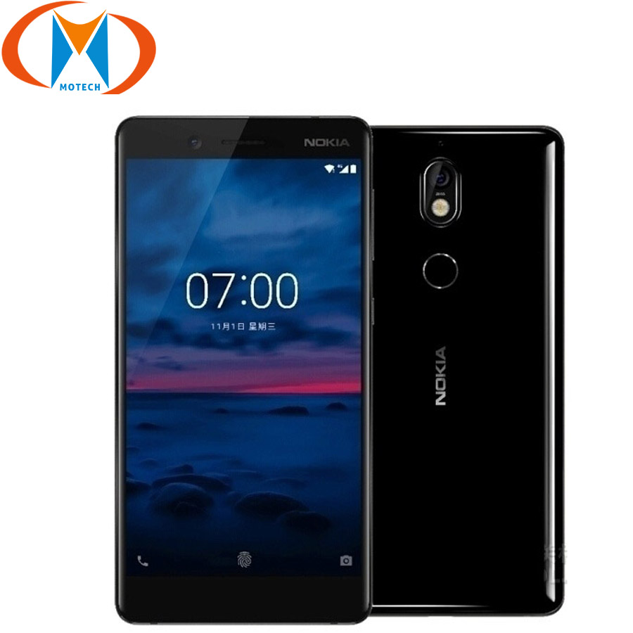 "New Original Nokia 7 Mobile Phone 4G LTE 5.2"" Snapdragon 630 Octa Core 4GB RAM 64GB ROM Fingerprint 16MP+5MP Android Smartphone"