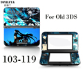 New Protective Skin Sticker Gamepad-Skin Protector Cover Plates Or Black Rock Shooter For Nintendo 3DS Stick For 3DS Controller