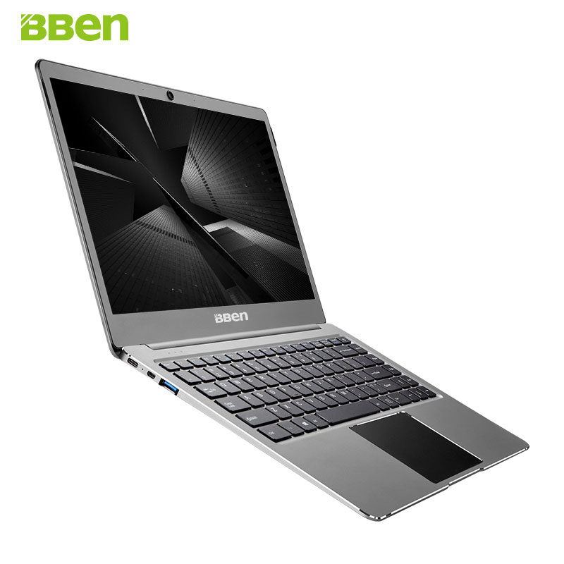 BBEN N14W portátil 14,1 ''Ultrabook Windows pre-instalado 10 Intel Celeron N3450 Quad Core 4 GB RAM 64G ROM WiFi FHD pantalla tipo C