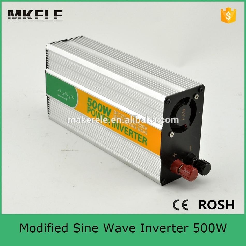 цена на MKM500-481G off-grid modified sine wave 500 watt power inverter 48vdc to 110vac inverter for home power inverters