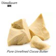 Dimollaure 50g Unrefined Cocoa Butter Raw Pure Cocoa Butter Base Oil Food Grade