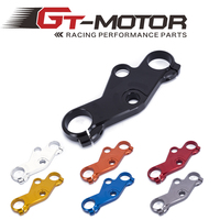 Gt motor Motorcycle Lowering Triple Tree Front End Upper Top Clamp For Suzuki GSXR600/750 2001 2003 GSXR1000 01 05