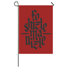 Personalized Garden Flag hiphop flag Seasonal Flags for Outdoors Decor