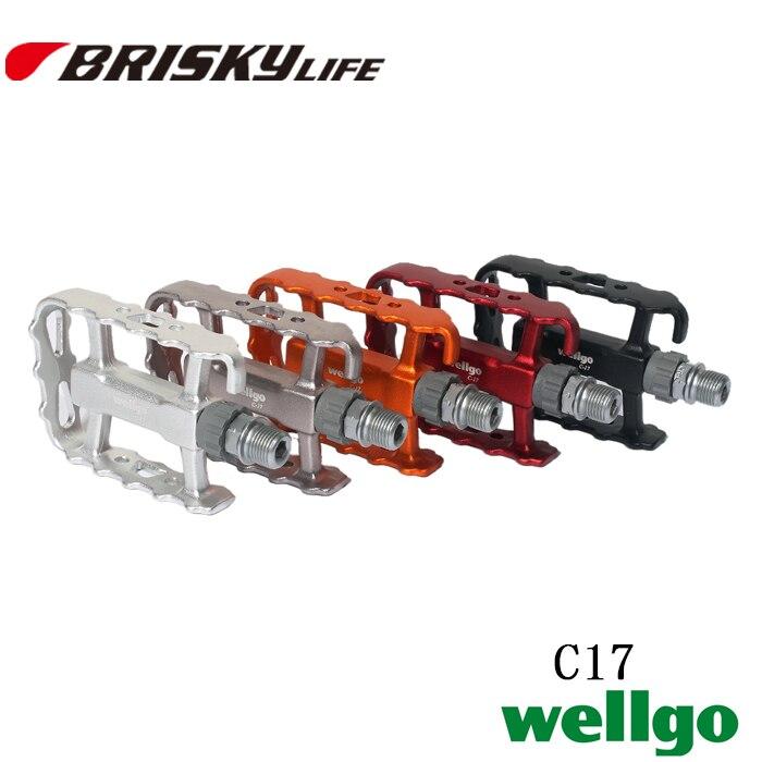 ٩(^‿^)۶Envío libre wellgo c17 para bicicletas de montaña pedales ...