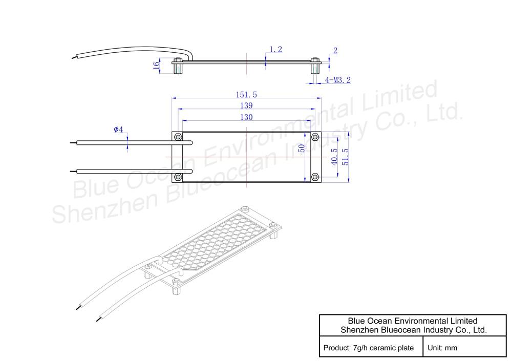 Pinuslongaeva CE EMC LVD FCC Factory outlet 7 gr/std 7 gramm ...