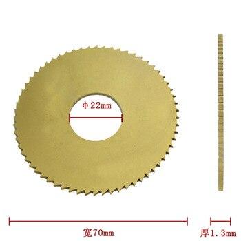 100% Wenxing modelo 100B tamaño 70mm 22mm 1,3mm hoja para cortador de llaves máquina de corte piezas de herramienta