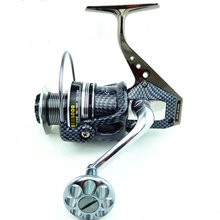 Saltwater Spinning Fishing Reel Full Metal Boat Fishing Reels with 12+1 BBs 5.5:1 Gear Ratio Lake Carp Fishing Reel 18KG Drag spinning fishing reel fishing line front drag system gear ratio 6 3 1 9bb 1 cnc handle rubber knob saltwater fishing reel wheel
