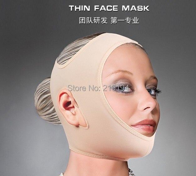 Slim Slimming Face Belt Shaping Cheek Scalp 3D Chin Uplift Sharp Anti Wrinkle Sagging Mask