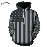 Fashion Men S Hoodie Tracksuit Men Sport American Flag 3D Printed Hoodies Long Sleeve Hooded Casual