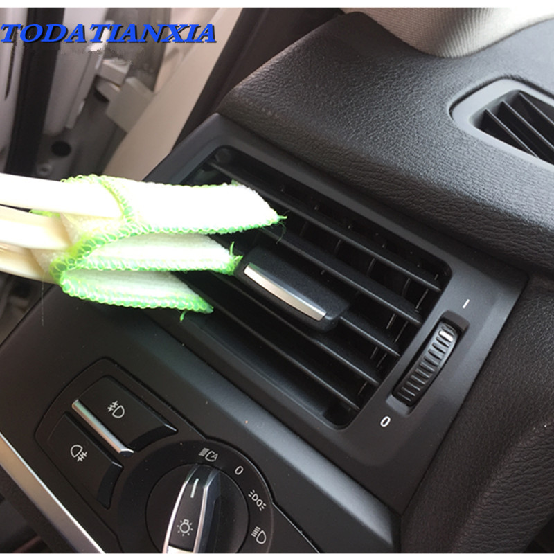 Car Air Outlet Vent Brush Interior Accessories FOR nissan qashqai ford focus mazda 6 ford focus 2 mazda rx8 vw scirocco bmw x5 executive car