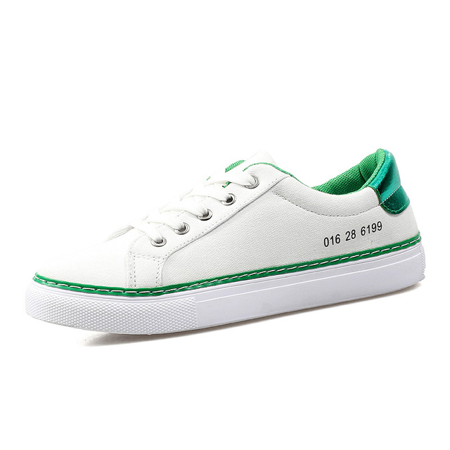 WOLF WHO Soft Canvas Shoes Women White Flats Krasovki Female Ladies Superstar Tenis Feminino Casual Basket Femme Footwear H-106