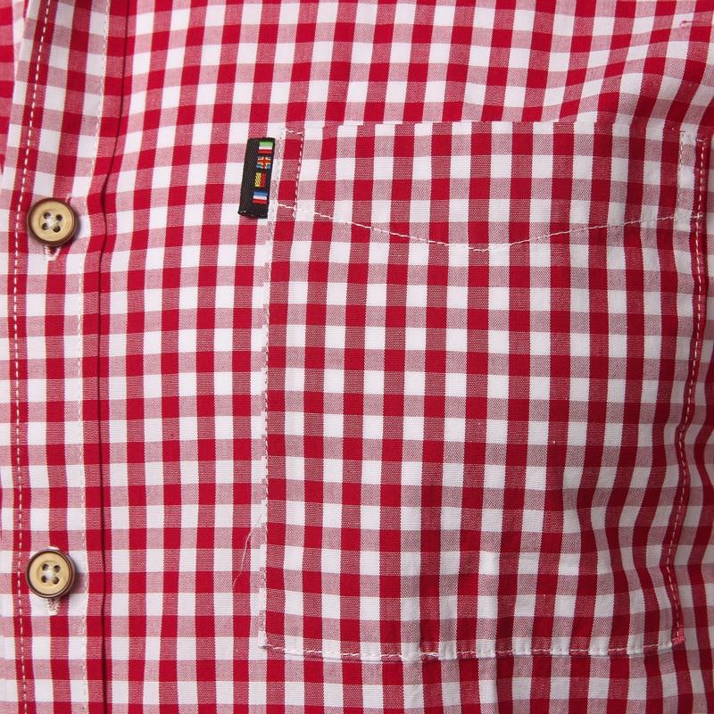 Small Plaid Shirt Men Summer New Short Sleeve Cotton Mens Dress Shirts Casual Button Down Chemise Homme Camisa Masculina XXXL 6