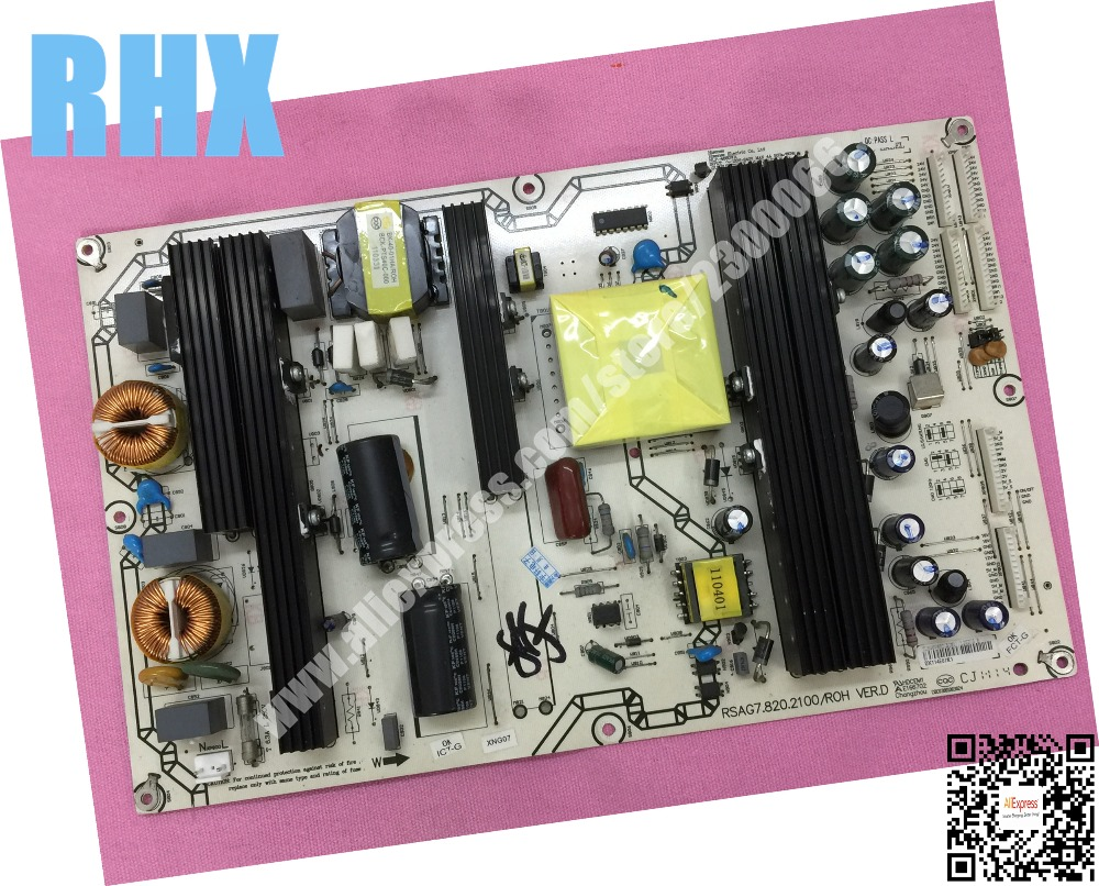 все цены на for hisense TLM46V66C TLM52V78PKN TLM46V66PK LCD TV power supply board RSAG7.820.2100 RSAG7.820.2100/ROH VER.D is used онлайн