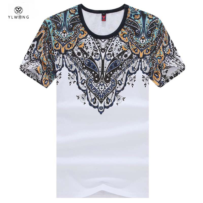 Luxury brand mens summer tops tees short sleeve t shirt for Luxury t shirt printing