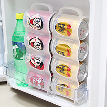 Refrigerator Storage Box Beer Drink Cans Space saving Cans Finishing Frame Storage Box Kitchen Gadget Wholesale