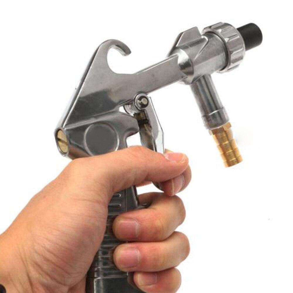 8in1 Джет пистолет воздуха сифон Пескоструйная пистолет + железо/Керамика насадки комплект ...