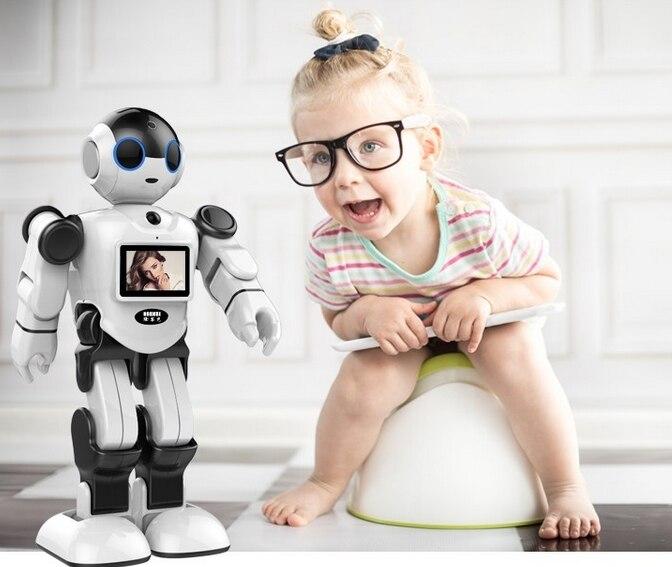 Новый креативный инновационный робот игрушка Поддержка Дома Монитор бесплатное приложение для общения - 4
