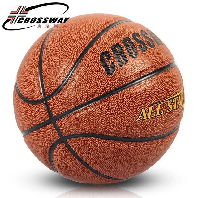 Ballesta nueva marca alta calidad 601 pelota de baloncesto ZK microfibra material oficial Size7 baloncesto gratis con bolsa de Red + aguja