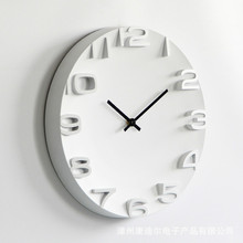 Creative 3D Wall Clock Modern Design Living Room Decoration Nordic Brief Hanging Quartz Clocks Big Wall Watch Home Decor Silent creative geometric flower black wall clock modern design with wall stickers 3d quartz hanging clocks free shipping home decor