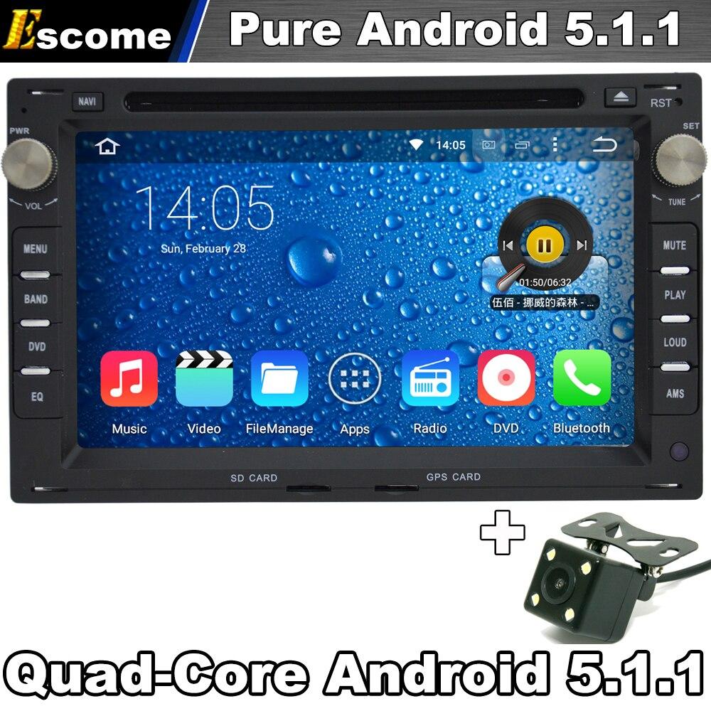 Автомобильный DVD GPS плеер для VW Fox T5 Гольф 4 JETTA Passat B5 Sharan Мужские поло чистый андроид 5.1 WI-FI Радио заднего вида Камера