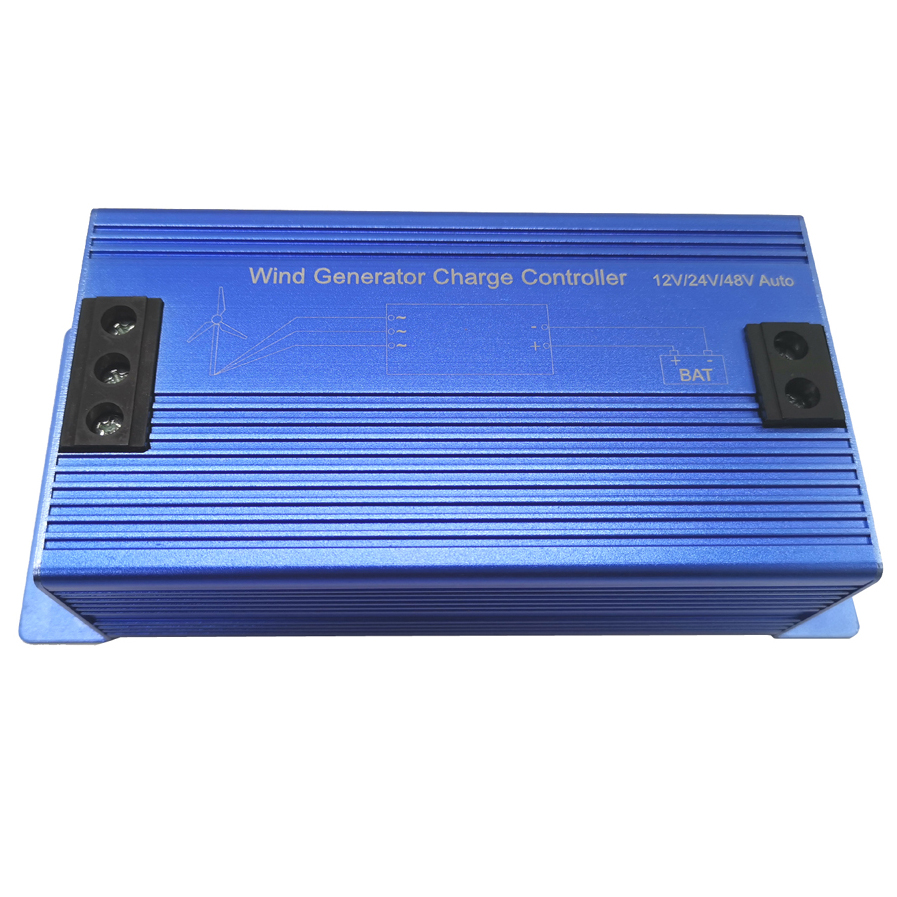 600W Wind Turbine Charge Controller 12V 24V 48V Automatically Distinguish CE Approval Wind Power Generator Max