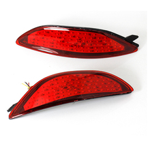 OKEEN Car-styling Tail Rear Bumper Reflectors Lights  2PCS 12V LED Tail Fog Light For Hyundai Accent /Verna Parking Warning Lamp